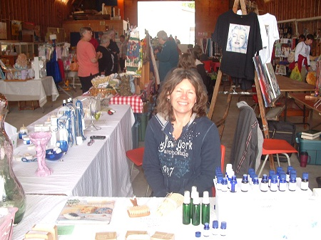 Me at the Burks Falls Farmers Market